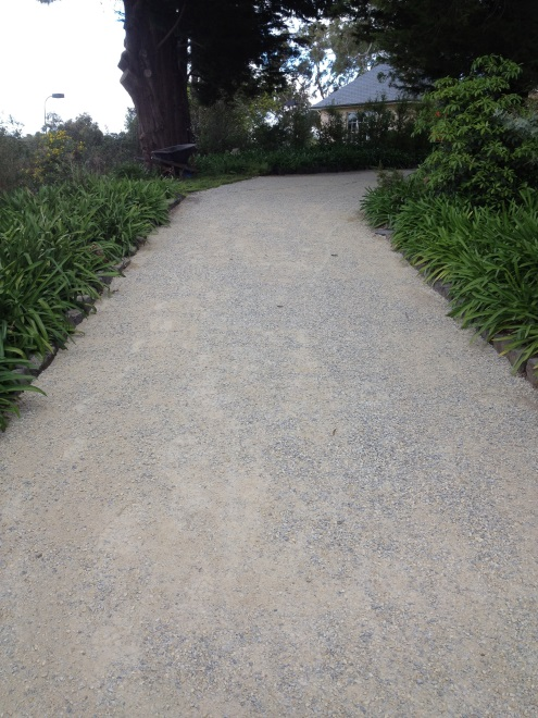 Decorative Stone Driveway